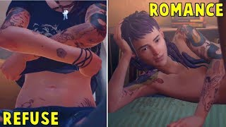 Accept VS Refuse to Enter the Tent With Cassidy  -All Choices- Life is Strange 2 Ep 3 Wasteland