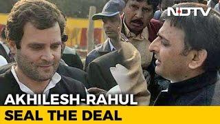 Congress Beats Akhilesh Yadav To It Announces Uttar Pradesh Alliance
