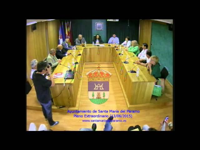 Pleno Extraordinario (13/06/2015)