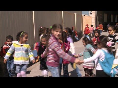 Auprès des réfugiés syriens et irakiens