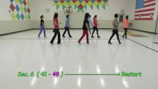 Half A Song - Yvonne Anderson & Myra Harrold - Line Dance