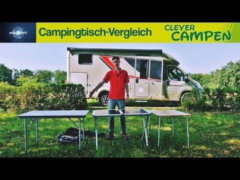 Campingtisch-Vergleich: Welcher Vierbeiner passt zu mir? Ausprobiert! | Clever Campen