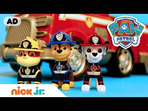 PAW Patrol Toy Episode: Pups Save the Kitty Monster | Nick Jr.