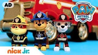 PAW Patrol Toy Episode: Pups Save the Kitty Monster | PAW Patrol | Nick Jr.