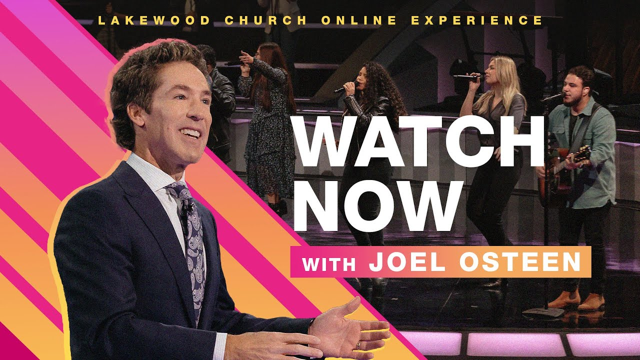 Watch Today's Joel Osteen Sunday Service 25th October 2020 at Lakewood Church
