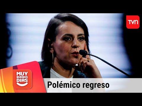 El polémico regreso de Jani Dueñas a los escenarios tras su paso por Viña | Muy buenos días