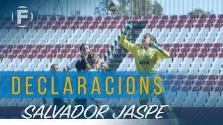 """Salvador Jaspe: """"Necesitamos una victoria"""""""