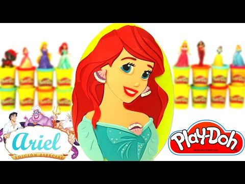 Prenses Ariel Sürpriz Yumurta Oyun Hamuru - Barbie LPS Emojiler