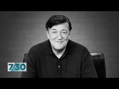 Stephen Fry discusses his new book about the siege of Troy | 7.30