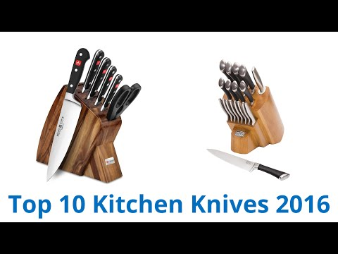 10 Best Kitchen Knives 2016