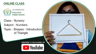 Shapes – Introduction of Triangle For Nursery Students | Numbers | Ruby Park Public School Thumbnail
