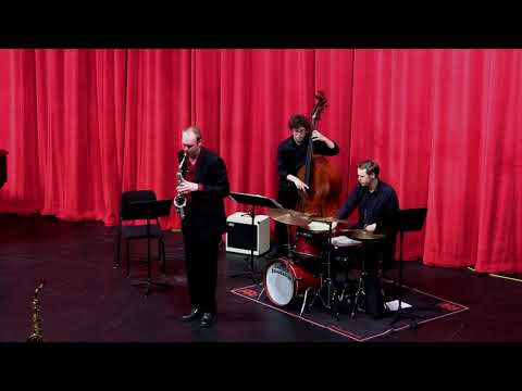 A jazz performance from my second master's recital