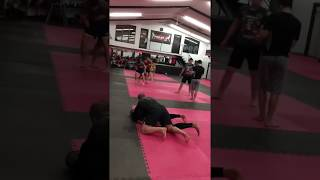 MMA drill - combo and takedown