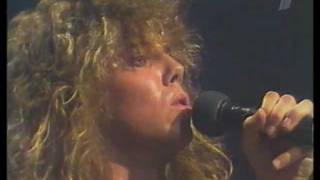 EUROPE - Carrie (live on Moscow TV, 1987)