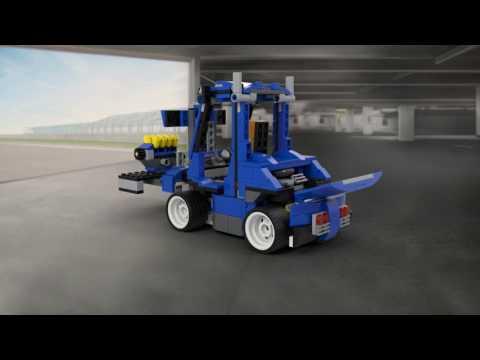 Vidéo LEGO Creator 31070 : Le bolide bleu