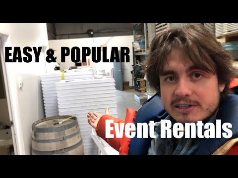 Easy & Popular - White Wedding Chairs (Not Billy Idol) - Growing My Event Rental Business