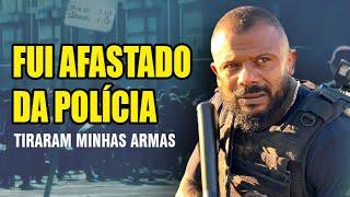 AFASTADO da POLÍCIA - Minha SEGURANÇA está EM RISCO - TV DA CUNHA