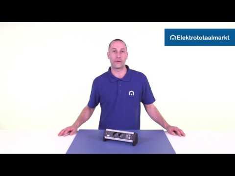 Bachmann Desk 1 opbouwunit - Elektrototaalmarkt.nl