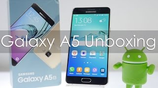 Samsung Galaxy A5 (2016) Edition Unboxing & Overview