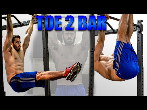How to Perform the Toe to Bar Straight Leg Raise (Strict Form, No Kipping)