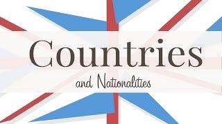 Страны и национальности на английском.