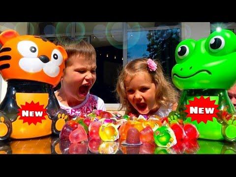 Смешные ПРАНКИ Супер розыгрыши для Люды и Инны Жвачки Конфеты Fanta Bubble Gum (видео)