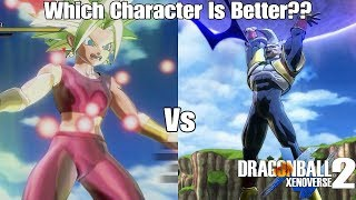 Xenoverse 2 DLC 7 Character Test! Kefla Vs Baby Vegeta! Which DLC Pack 7 Character Is Better?