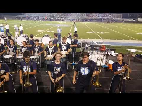 My nephew's band: the trombone suicide routine