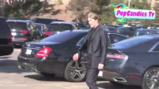Мадс Миккельсен,  Mads Mikkelsen spotting at the Independent Spirit Awards 2013