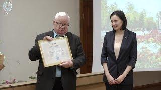 Президент вручил премию научному сотруднику Аграрного университета Екатерине Гризановой