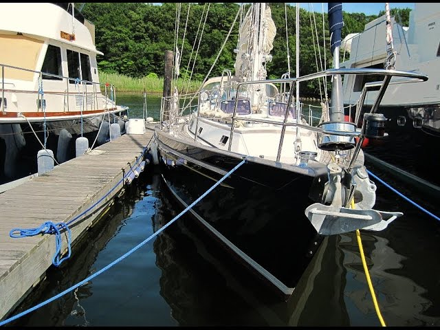 Boating Safety - Will Your Slip Lines Protect Your Sailboat?