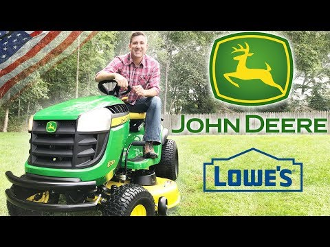 Best Riding Lawn Mower 2018 |  John Deere E130 Review