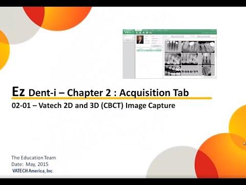 Chapter 02 01 Acquisition Vatech 2D and 3D