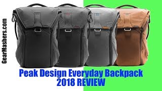 Peak Design Everyday Backpack 20L Review (Better Than I Expected) 2018