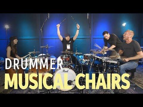 🥁 Drummer Musical Chairs With Jared Falk, Casey Cooper, Kristina Schiano & Rob Scallon