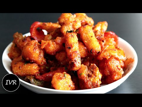 """Crispy Fried Vegetables"" 