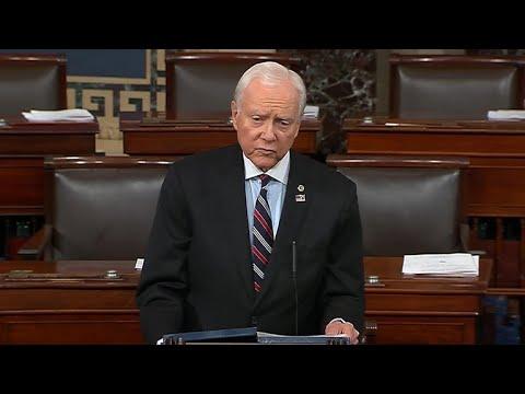 Sen. Orin Hatch addresses opioid epidemic