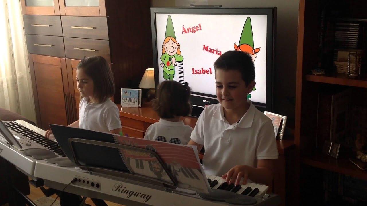 Himno de la Alegría - Angel, María e Isabel Serrano