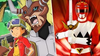 Digimon Frontier (Power Rangers Lost Galaxy Style!)