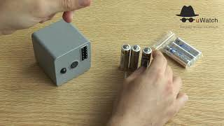 uWatch Cube: Batteries