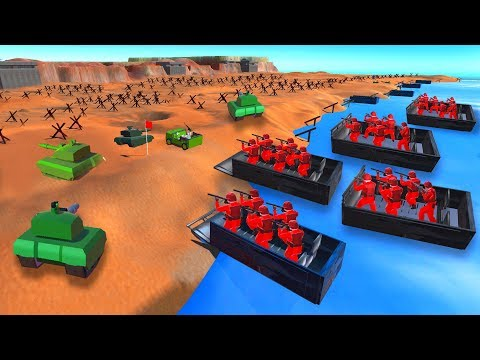 Download D Day Attack Crazy Beach Invasion Ravenfield Video 3GP Mp4