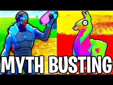 GRAFFITI LLAMA!! // HOP ROCK ROCKET RIDE!!! | FORTNITE MYTH BUSTING #3
