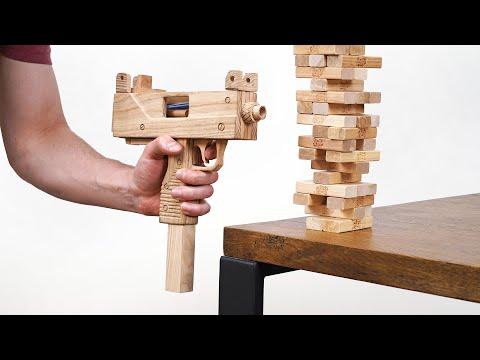 This Jenga Gun Guarantees a Win