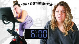 I Tried Working Out at 6 am for a Week