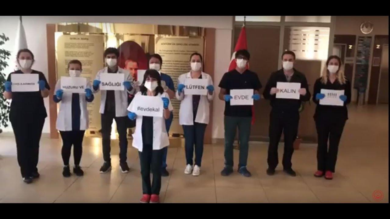 Yaşlılarınız Bizimle Güvende. Evde Kal Türkiye