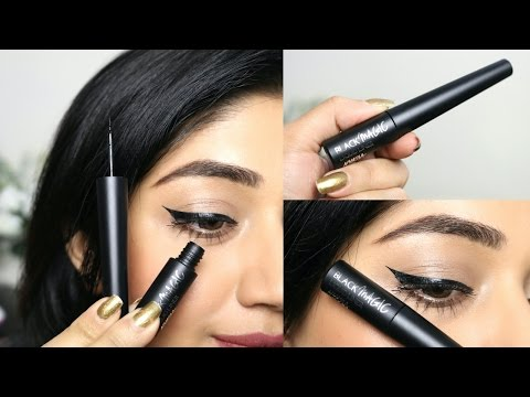Nykaa Black Magic Liquid Liner Review | corallista