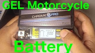 Is a gel cell motorcycle battery any good? (iGel Battery / CB250)