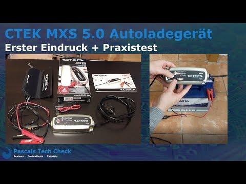 CTEK MXS 5.0 Vollautomatisches Ladegerät / Autoladegerät 🔥 Erster Eindruck + Praxistest