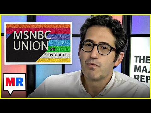 Sam Seder Reacts To MSNBC Union Efforts