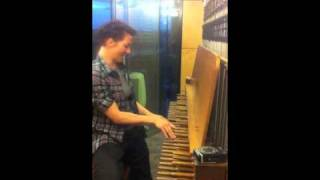 """playing """"coin-operated boy"""" on the carillon"""